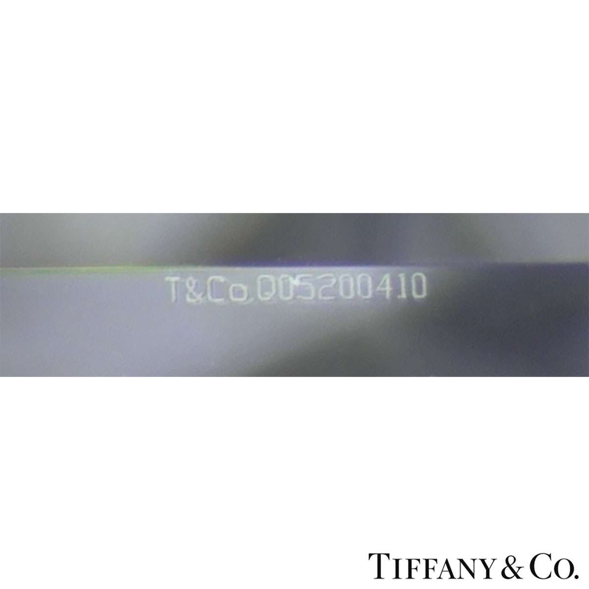 Tiffany & Co. Round Brilliant Cut Diamond Ring 0.86ct H/VVS1 XXX